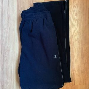 Champion joggers sweatpants size medium
